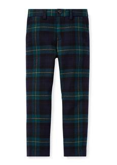 Ralph Lauren Newport Tartan Plaid Wool Pants  Size 5-7