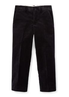 Ralph Lauren Newport Velvet Straight-Leg Pants  Size 5-7