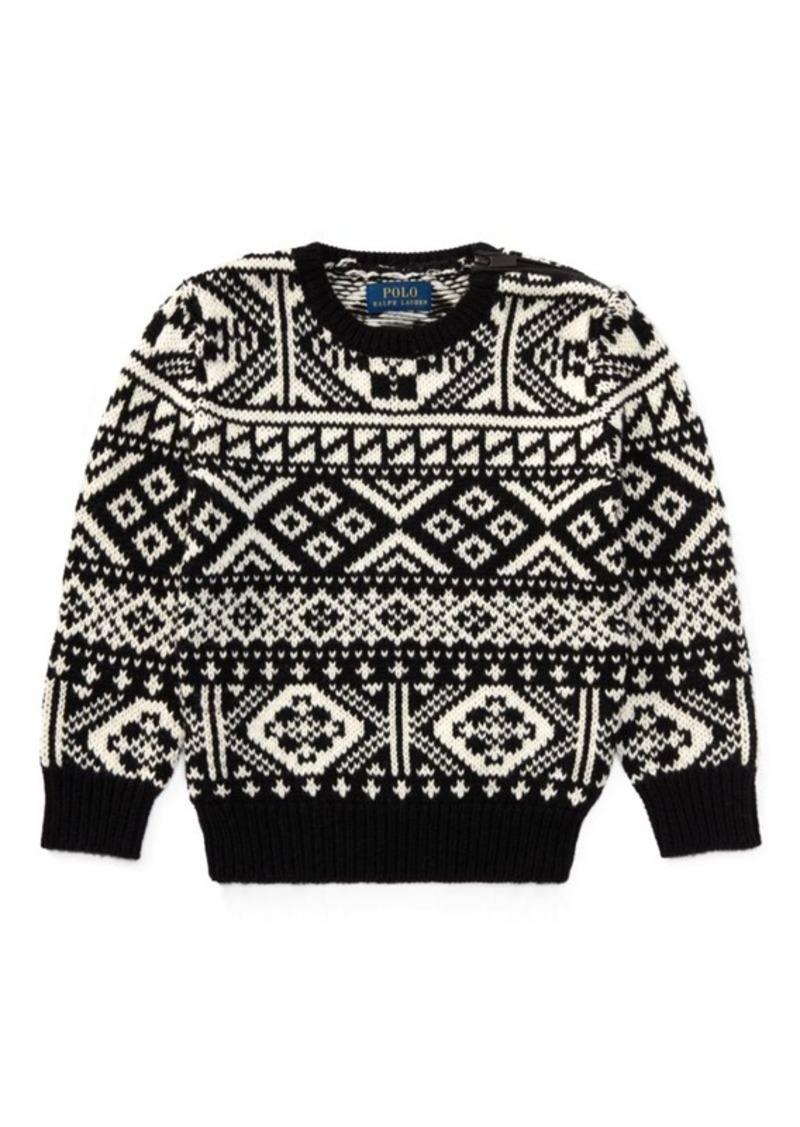 Ralph Lauren Nordic Merino-Cotton Sweater