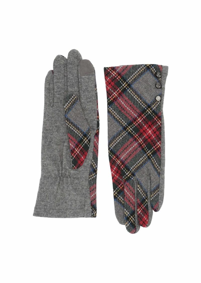 Ralph Lauren Novelty Three-Button Gloves