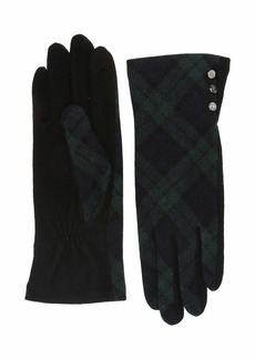 Ralph Lauren Novelty Three-Button Gloves