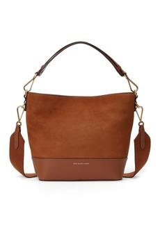 Ralph Lauren Nubuck Leather Small Hobo Bag