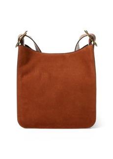Ralph Lauren Nubuck Lennox Messenger Bag