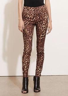 Ocelot-Print Skinny Jean