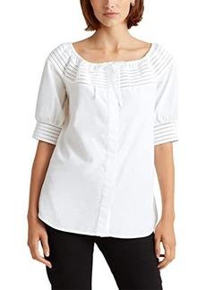 Ralph Lauren Off-the-Shoulder Cotton Top