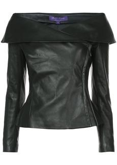 Ralph Lauren off-the-shoulder jacket