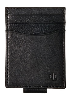 Ralph Lauren Oil Milled Slim Card Case