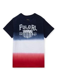 Ralph Lauren Ombre Short-Sleeve Logo T-Shirt  Size 5-7