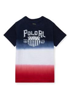 Ralph Lauren Ombre Short-Sleeve Logo T-Shirt  Size 2-4