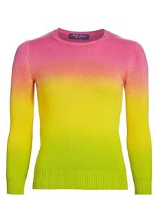 Ralph Lauren Ombre Three-Quarter Sleeve Sweater