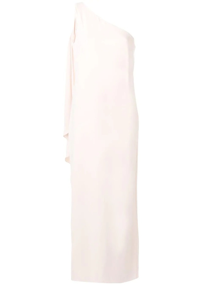 Ralph Lauren one shoulder tunic dress