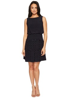 Ralph Lauren Opalina Bruni Dot Matte Jersey Dress