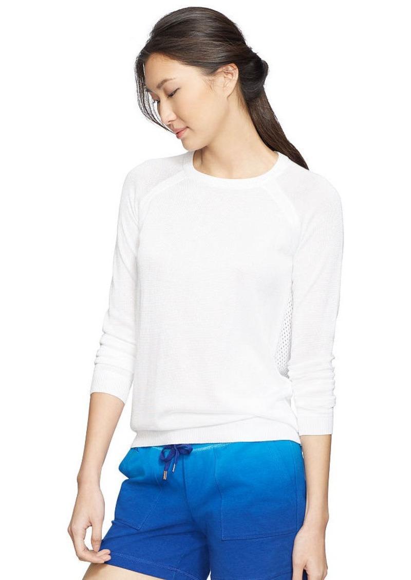 Ralph Lauren Open-Knit Cotton Sweater