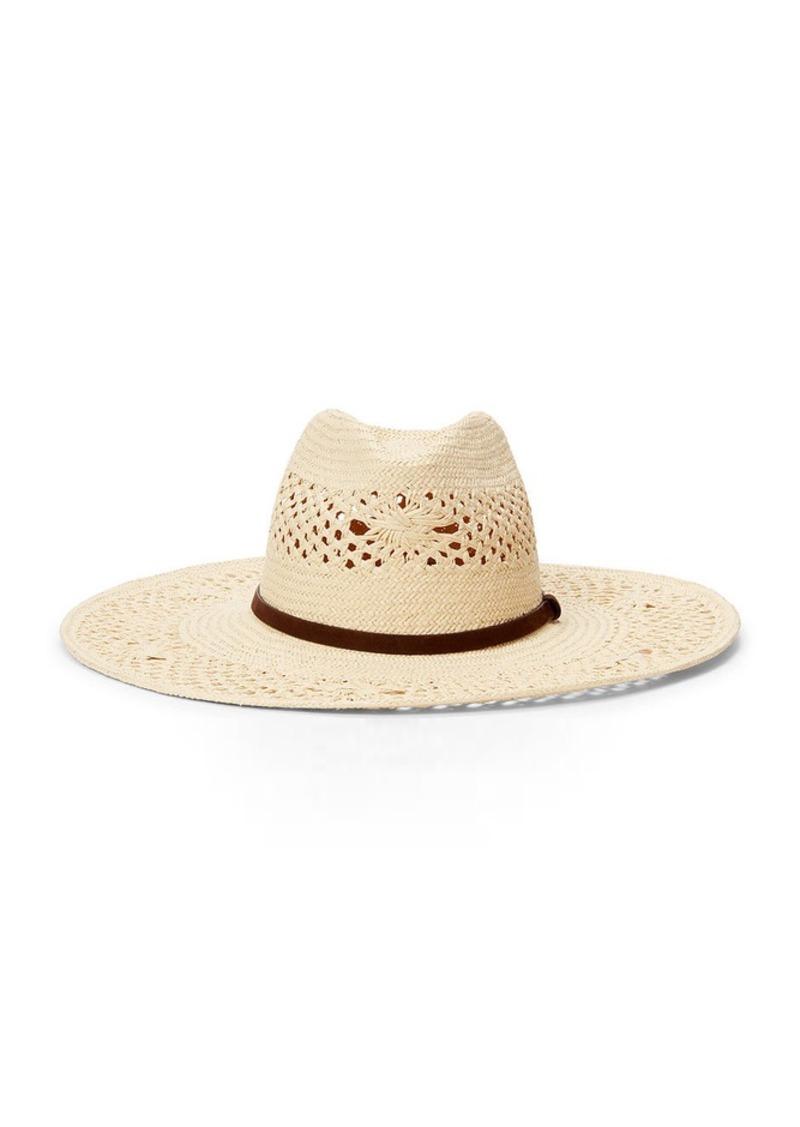 Ralph Lauren Open-Weave Straw Panama Hat