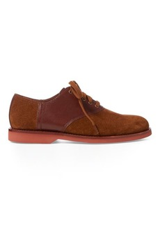 Ralph Lauren Orval Suede Saddle Shoe