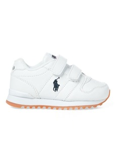 Ralph Lauren Oryion Faux-Leather EZ Sneaker