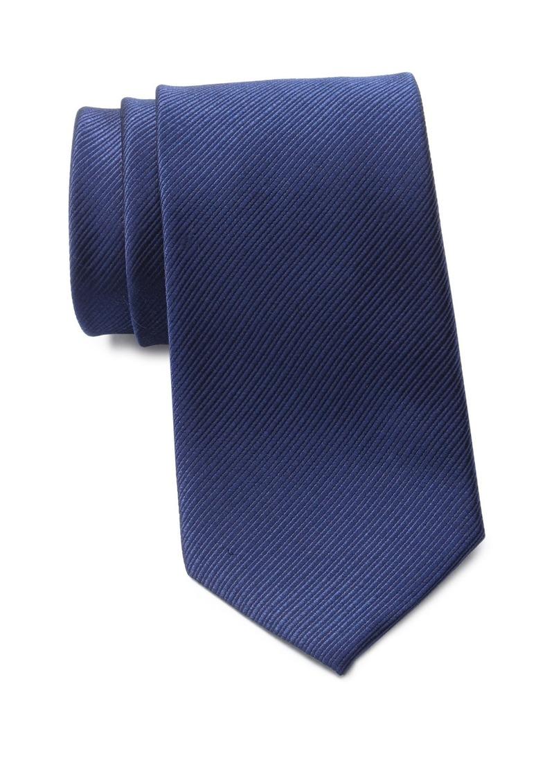 Ralph Lauren Ottoman Solid Silk Tie