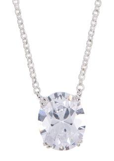 Ralph Lauren Oval Cut Necklace & Stud Earrings Gift Set