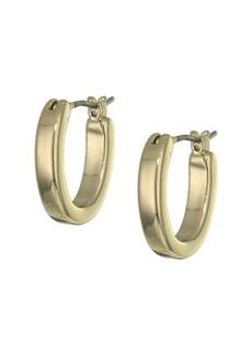 Ralph Lauren Oval Hoop Earrings