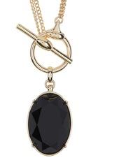 Ralph Lauren Oval Stone Pendant Necklace