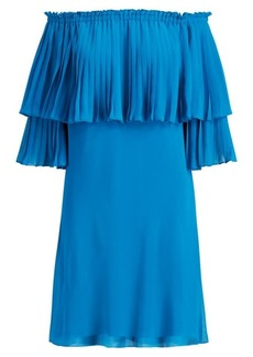 Ralph Lauren Overlay Georgette Dress