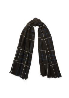 Ralph Lauren Oversize Plaid Blanket Wrap