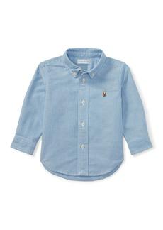 Ralph Lauren Oxford Chambray Shirt  Size 9-24 Months