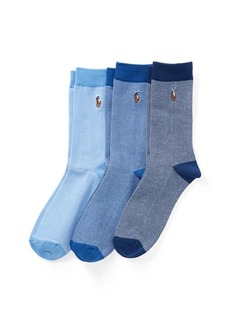 Ralph Lauren Oxford Sock 3-Pack