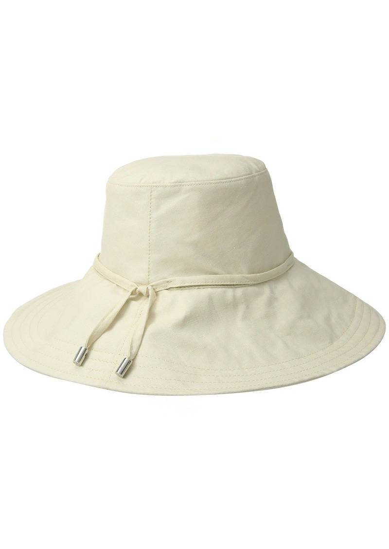 Ralph Lauren Packable Linen Mid Brim Hat