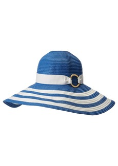 Ralph Lauren Packable Signature Grosgrain Sun Hat
