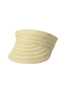 Ralph Lauren Packable Straw Visor Hat