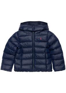 Ralph Lauren Padded Nylon Jacket W/ Hood