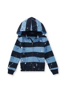 Ralph Lauren Paint-Splatter Cotton Hoodie