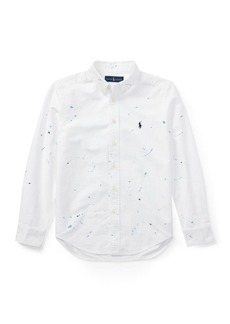 Ralph Lauren Paint-Splatter Cotton Shirt