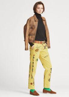 Ralph Lauren Painted Corduroy Pant