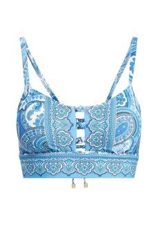 Ralph Lauren Paisley Bikini Top