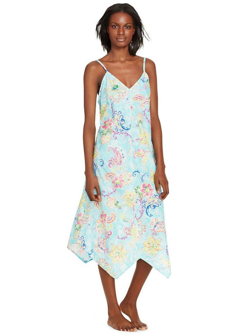 Ralph Lauren Paisley Cotton Night Gown