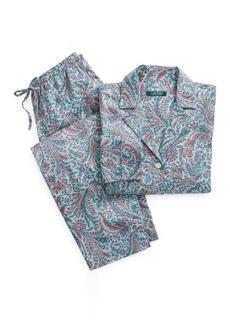 Ralph Lauren Paisley Cotton Sleep Set