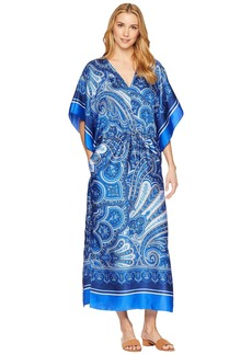 Ralph Lauren Paisley Georgette Maxi Dress