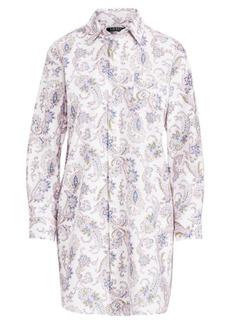 Ralph Lauren Paisley Twill Sleep Shirt