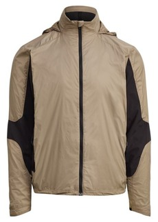 Ralph Lauren Paneled Hooded Jacket