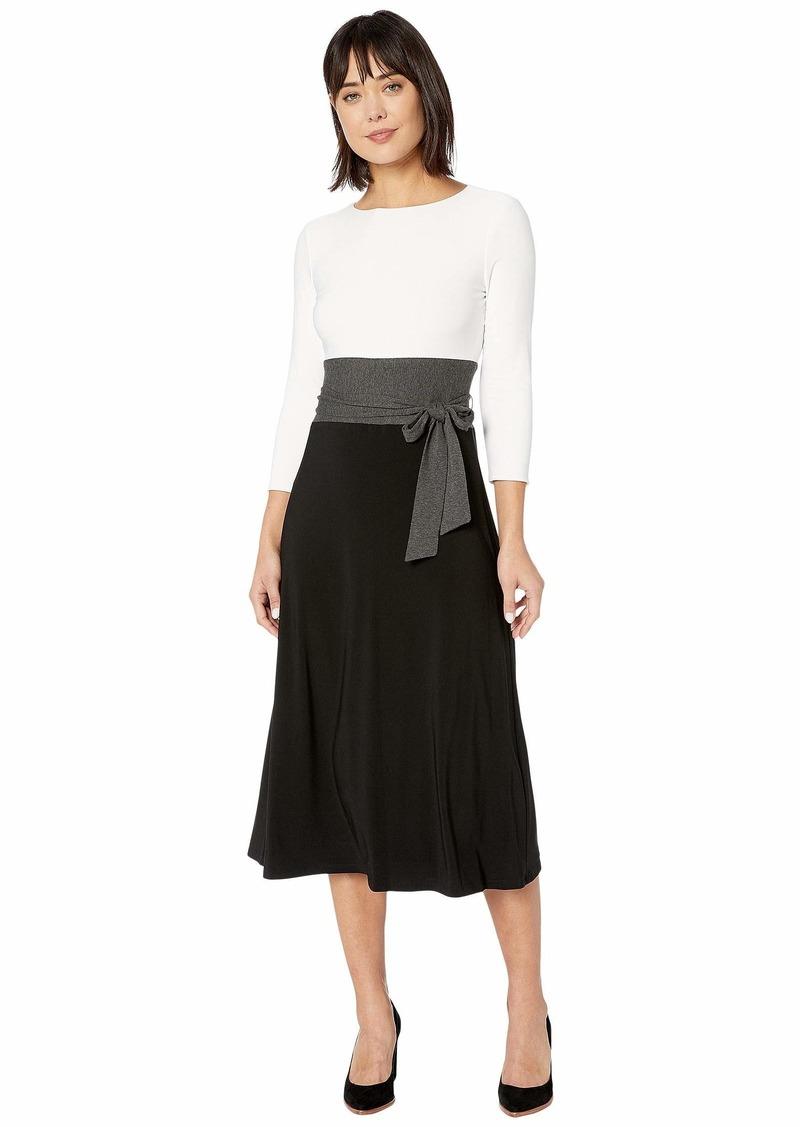 Ralph Lauren Paneled Jersey Dress