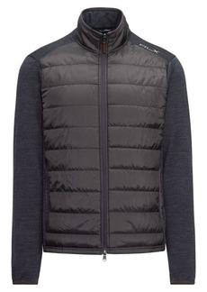 Ralph Lauren Paneled Stretch Wool Jacket