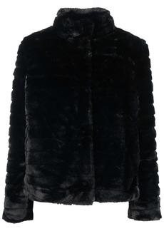 Ralph Lauren panelled faux-fur jacket