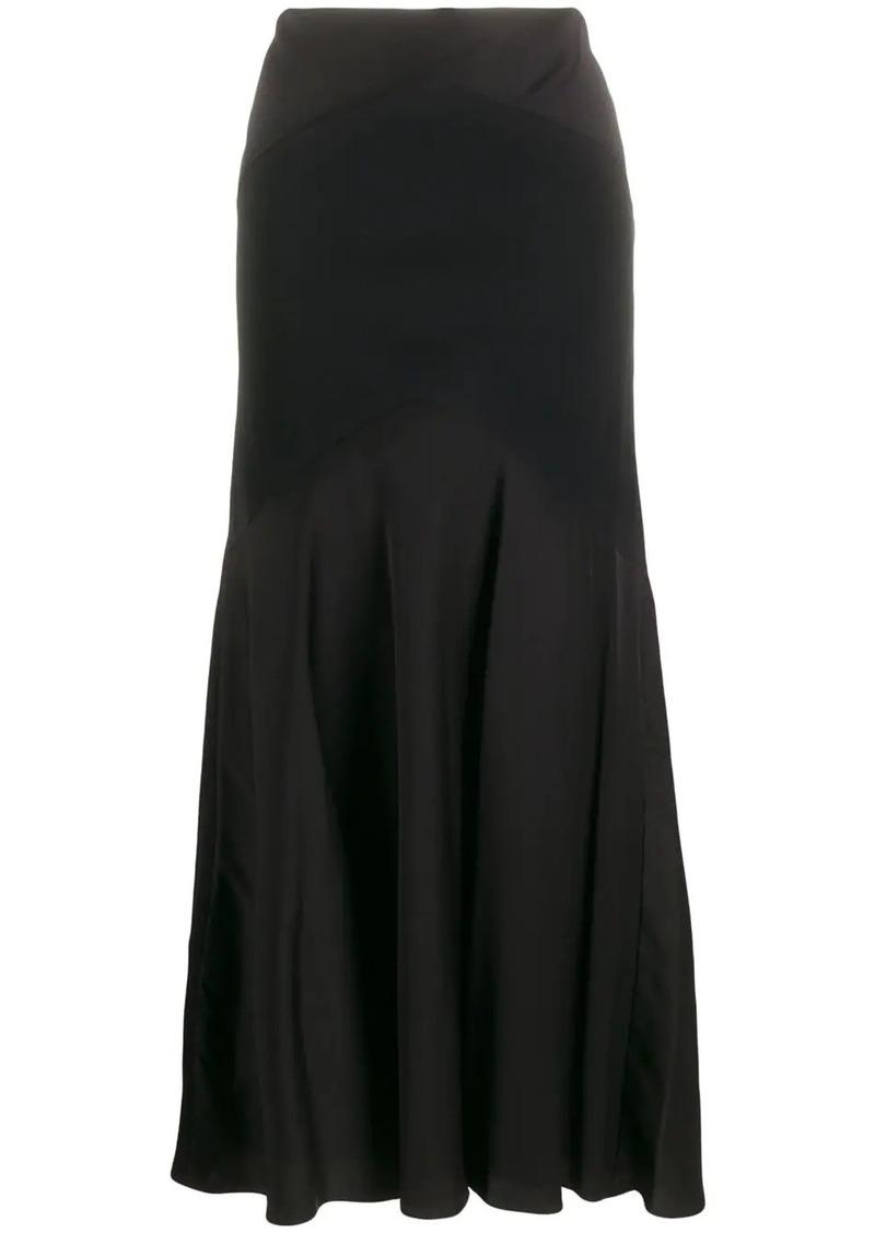 Ralph Lauren panelled maxi skirt