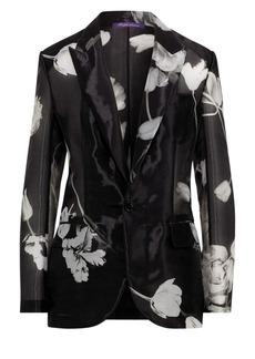 Ralph Lauren Pascale Floral Silk-Blend Jacket