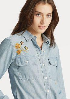 Ralph Lauren Patch Chambray Shirt