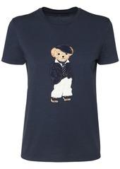 Ralph Lauren Patch Cotton Jersey T-shirt