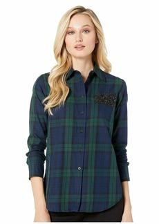 Ralph Lauren Patch Tartan Cotton Shirt