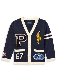 Ralph Lauren Patch Varsity Cardigan